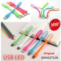 al por mayor new led lamp-Nueva Luz 2016 USB, USB LED lámpara de luz LED con Xiaomi USB para la herramienta de banco de la energía comupter USB ,, libre de DHL