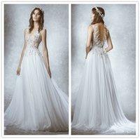 Cheap Backless Wedding Dresses Best Sheer Wedding Dress