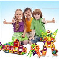 Wholesale 2015 new arrival Children s Toys Kit plastic magnetic building blocks splicing toy Magnetic Construction Toy Magformers Piece