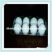 Wholesale transparent plastic egg blister Boiled Egg Tray Egg Holder Stand Storage Tool Dropshipping