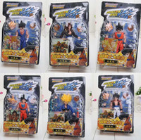 Wholesale 6pcs set cm Dragonball Z Dragon Ball DBZ Action Figures Toys for kids