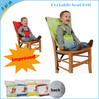 Wholesale Fashion Foldable Travel Baby Feed High Chair Belt Seat Infant Sacking Seat Replacement Child Baby Chair Seat