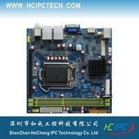 Wholesale M4211 ITX HCM61X11F Mini ITX Intel LGA1155 H61 Embedded Motherboard Mini PCIE SATA3 PCIE X COM SPDIF GPIO Giga LAN ATX