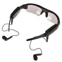 dvr mp3 sunglasses - Mini DVR Sunglasses With Camera Mp3 Player With Earphone Hidden Camcorder x720 HD Hidden Spy Camera
