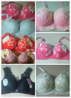 prices lingerie - Factory Price High Quality New Sexy Large Size Seamless Lace Bra Adjustable Women Bra Underwear Push Up Lingerie Mix Size Styles