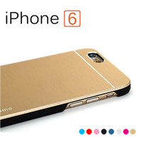 Cheap Metal Case for iPhone 6 Best Motomo Case for iPhone 6