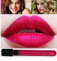 Wholesale colors NANI New Waterproof lipstick lip gloss Makeup lipgloss velvet matte lip stick red color vitality cerise star