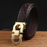 Wholesale Big large Buckle Fashion belt buckles Men s Belt Genuine Leather Belts Leique Texture belt leather men Belts for men women G belts with