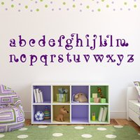 abc decals - Kids Room Decorative Vinyl Art ABC Alphabet Wall Stickers Nursery Home Decor Wall Decal