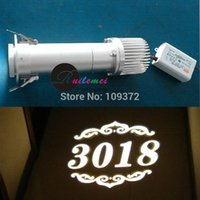 auto image customs - Low Prices Free Fast Shipping Custom Gobo Projector W LED Light Indoor Application Static Image Projection