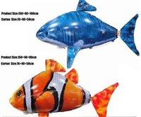 big fish radio - Air Swimmers Flying Shark Air Swimmer Flying Fish Shark Clownfish Extreme Model Radio Contral DHL