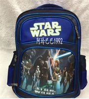 baby prizes - Star Wars Boys Backpacks Cartoon Darth Vader Star War bags Children Kids School Bag baby Double Shoulder Bags Students Prize Gifts DHL free