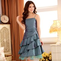 beauty allure - Factory Outlets To Increase The Size Women Summer New Allure Beauty Lotus Leaf Gauze Dress Strap Dress