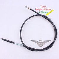 Wholesale BEST SALE MM CLUTCH CABLE FOR DIRT PIT BIKE MM TOTAL LENGTH MM MOVING DROP SHIPPING