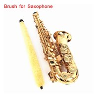 Wholesale Soft Durable Cleaning Brush Cleaner Pad Saver for Alto Sax Saxophone High Quality Saxophone Accessories