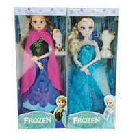 baby toys deals - cheap deal inch Frozen Musical Doll Anna and Princess Elsa with Olaf with music quot let it go quot Best Music Toys For kids baby girls