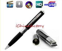 spy pen - Hidden Spy Pen Camera Camcorder HD w Micro SD TF Card Socket Super Mini DV DVR Video Record BPR6 w Hidden Microphone Cameras