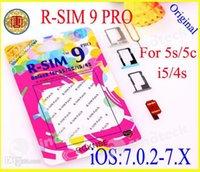 Wholesale Original R SIM RSIM9 R SIM9 Pro Perfect SIM Card Unlock Official IOS for iphone S G S C GSM CDMA WCDMA Free DHL Factory