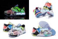 Nouveau 2015 Kevin Durant Qu'est-ce que le KD 7 VII MVP SE brillent dans Dark KD7 Hommes Basket-ball, Hommes Kds Sport Chaussures