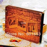 big black albums - Diy photo album black card big ben paste type diy handmade baby lovers photo album with coner sticker