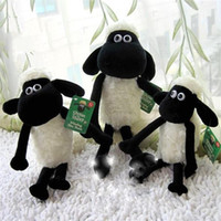 Wholesale 32cm Brinquedos Juguetes Hot Sale Shaun The Sheep Stuffed Animal Plush Toys Doll for Girls Cute Baby Kids Birthday Gift