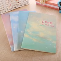 spiral notebook - cute Notes Notepads creative stationery A5 sky Love cute child pages K notebook diary notepad book
