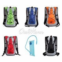 Wholesale Ultralight Outdoor Cycling Bike Bicycle Backpack Bag Water Pack Sports Hiking Climbing Camping Pouch Hydration Bladder Color