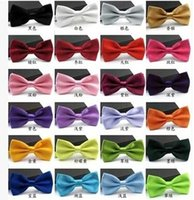 man and women - High Quality New Fashion Man and Women Bow Ties Neckwear Children Bow Ties Wedding Bow Tie Pay Shipping Fee To Get It For Free Gift