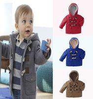 baby boy denim jacket - hot sale New fashion Children outerwear coats Boy baby clothing Warm hooded kids jackets Boy coat Winter jackets