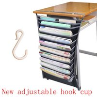 bidding box - Students stationery desk artifact after bidding books hang bag desk desktop receive a case storage box to receive a book bag