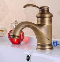 Wholesale Archaize basin faucet All copper undercounter bibcock European faucet High quality villa faucet restoring ancient ways