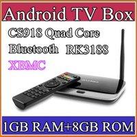 android tv box - 30PCS xbmc installed Bluetooth Version EKB311 MK888B CS918 quad core android tv box Android GB GB RK3188 nm Cortex A9 mini pc TV