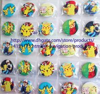 asian backpacks - New arrival Pikachu badges Cartoon Backpack Decoration Clothing Accessories Pin Badge cm