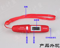 Wholesale High quality Mini Pen Type Non Contact Infrared IR Digital LCD Thermometer with Battery