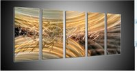 Cheap metal art wall free shipping original art abstact painting oil painting home office Decor #37B original canvas frame coffee