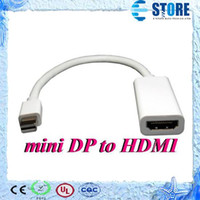 acer hdmi port - Mini Display Port DisplayPort DP Male to HDMI Female converter Adapter Cable For AIR PRO MAC Macbook TOSHIBA NOTEBOOK