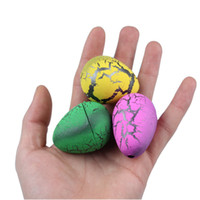 Wholesale Easter Egg Toy Dinosaur Egg Bubble Children Learning Education Toys Can Hatch Out Animals Creative New Strange Toys