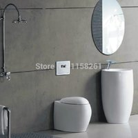 auto stool - Bathroom concealed flusher urine infrared sensor urinal automatic stool flush valve copper valve hotel auto accessories