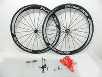 Wholesale News Ceramic Bearing hubs Wheels carbon mm Clincher bike wheels c carbon fiber road racing wheelset