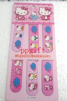 Wholesale New stheet Hello Kitty Magnetic bookmark Children gifts bookmark