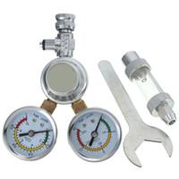 Wholesale New Arrival High Standard CO2 Pressure Regulator Magnetic Valve Solenoid Bubble Counter Aquarium Tools