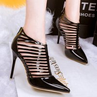 american classics high heels - 2016European and American fashion sexy fine with pointed heels nightclub Roman shoes were thin OL career woman