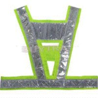 Wholesale 2014 New Fashion Neon lime yellow reflective vest V clothing high visibility Safety belt article printing