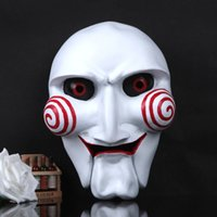 Wholesale Collector s Edition Halloween themed boutique resin film Saw Chainsaw Massacre mask mask g