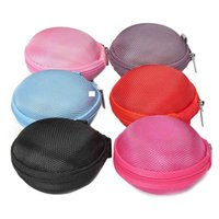 Wholesale 2015 Hot Carrying Hard Hold Case Storage Bag For Earphone Headphone Earbuds Key Coin Hard Holder Box Saling