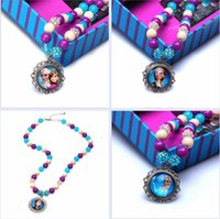 clothing chain - 3 colors FROZEN Clothing chain Necklace Fairies Princess girls PARTY Necklace FROZEN SNOW Necklace Jewelry Accessories Frozen A