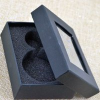 Wholesale Pocket Watch Box Black High Quality Package Gift Box For Pocket Watch B1