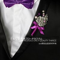 best variety - Married groom corsage boutonniere a variety of styles custom bride corsage best man master of ceremonies brooch