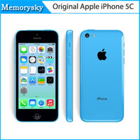 lifeproof - Original Apple iPhone C Unlocked Mobile Phone GB GB Dual Core IOS Retina quot IPS GB MP P GPS WIFI G WCDMA Smartphone