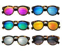 Wholesale 2015 Brazil illesteva sunglasses women brand designer vintage sun glasses mirror eyewear retro women oculos de sol feminino Hot